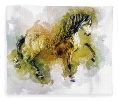 Gentle Heart Fleece Blanket