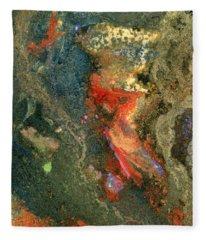 Geology-volcanic Fleece Blanket