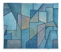 Geometric Abstraction IIi Fleece Blanket