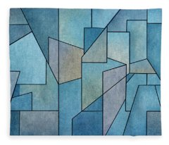 Geometric Abstraction IIi Fleece Blanket