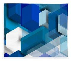 Abstract Composition  Fleece Blanket