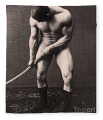 George Hackenschmidt Fleece Blanket
