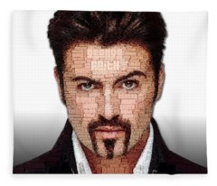 George Michael Tribute Fleece Blanket