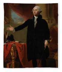 George Washington Lansdowne Portrait Fleece Blanket