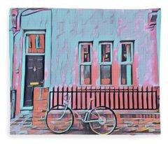 Georgetown Cycle Fleece Blanket