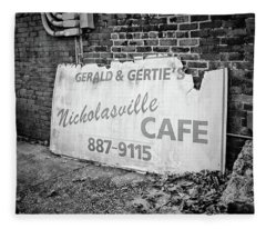 Gerald And Gerties Nicholasville Cafe Fleece Blanket