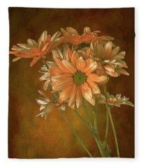 Gerbera Daisies Fleece Blanket