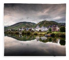 German Village Fleece Blanket