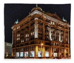Germania Building Fleece Blanket