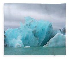 Get Inspired Glacier Lagoon Fleece Blanket