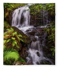 Get Your Rest And Be Thankful. Scotland Fleece Blanket