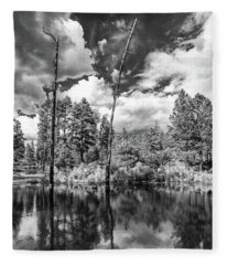 Fleece Blanket featuring the photograph Getaway by Rick Furmanek