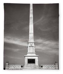Gettysburg National Park United States Army Regulars Monument Fleece Blanket