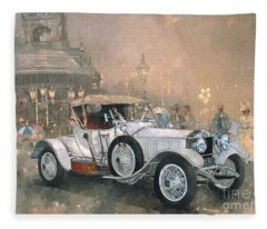 Ghost In Scarborough  Fleece Blanket