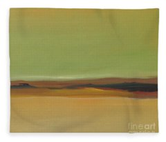 Ghost Ranch Fleece Blanket