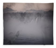 Ghost Ship 2 Fleece Blanket