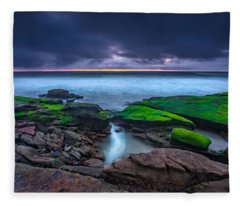 Ghost Tide Fleece Blanket