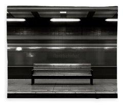 East Berlin Ghost Train Fleece Blanket