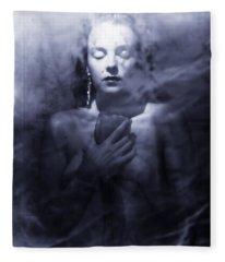 Ghost Fleece Blankets