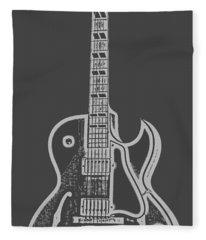 Minimal Digital Art Fleece Blankets