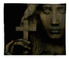 Give Me Peace On Earth Fleece Blanket