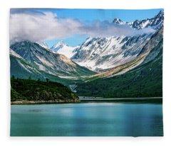 Glacial Valley Fleece Blanket