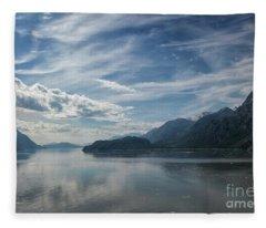 Glacier Bay Scenic Fleece Blanket