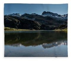 Glacier Formed Fleece Blanket