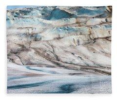 Glacier Ice Fleece Blanket