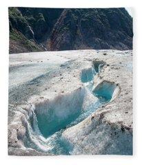 Glacier Melt Fleece Blanket