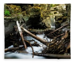St Mary's Waterfall Fleece Blanket