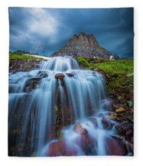Glacier Storm Fleece Blanket
