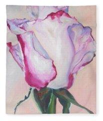 Glamour Roses IIi Fleece Blanket