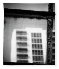 Glass Houses Fleece Blanket