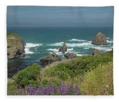 Gleason Beach Fleece Blanket