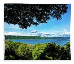 Glen Lake Fleece Blanket