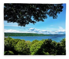 Glen Lake Fleece Blanket