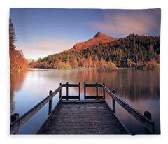 Glencoe Lochan  Fleece Blanket