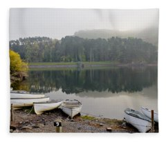 Glencorse Reflection. Fleece Blanket