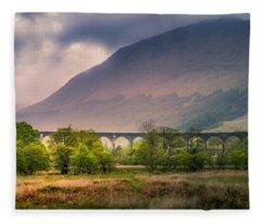 Glenfinnan Viaduct Fleece Blanket