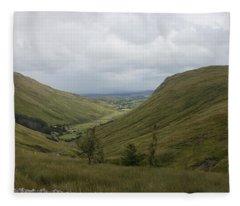 Glengesh Pass Fleece Blanket