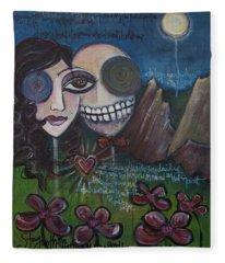 Glenn And Allison Fleece Blanket