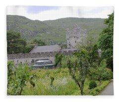 Glenveagh Castle Gardens 4287 Fleece Blanket