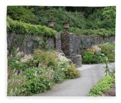 Glenveagh Castle Gardens 4288 Fleece Blanket