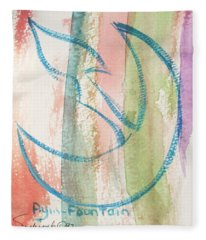 Gliding Ayin Fleece Blanket