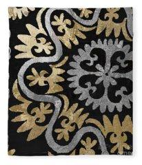 Glitterfish II Fleece Blanket