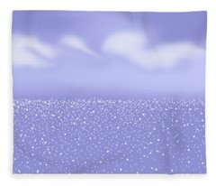 Glittering Sea Fleece Blanket