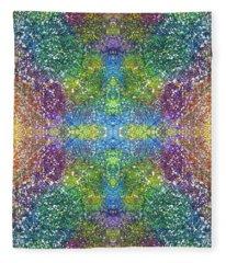 Global Positive Energy Express #1332 Fleece Blanket