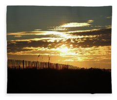 Glorious Sunset Fleece Blanket