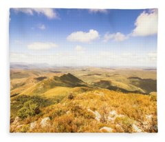 Glorious Tasmania Fleece Blanket